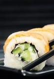 Sushi de Philadelphfia Imagens de Stock Royalty Free