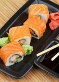 Sushi de Philadelphie Photos libres de droits