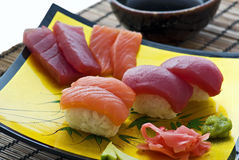 sushi de plaque Photo stock