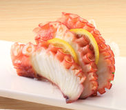 Sushi de poulpe Photographie stock