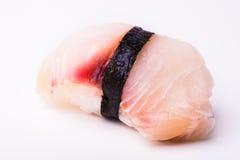 Sushi de rabo amarillo Fotos de archivo
