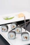Sushi de Sabamaki Makimono fotografia de stock royalty free