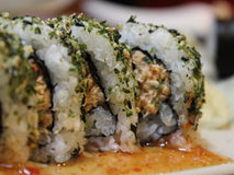 Sushi de Sansei Seafood Restaurant fotos de stock royalty free