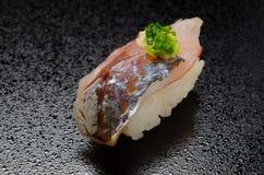 Sushi de saurels Photo stock
