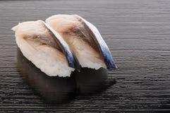 Sushi de Shrime Saba Imagen de archivo libre de regalías