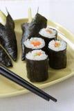 Sushi de Temaki Imagen de archivo