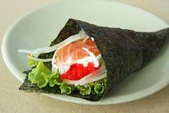 Sushi de Temaki image stock