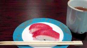 Sushi de thon Photographie stock