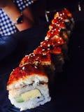 Sushi de Unagi Imagens de Stock