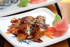 Sushi de Unagi Imagens de Stock Royalty Free