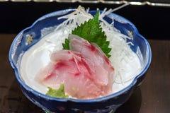 Sushi dei pesci piatti di stile giapponese Fotografia Stock Libera da Diritti
