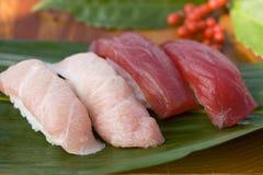 Sushi del atún Imágenes de archivo libres de regalías