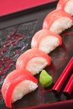 Sushi del atún Fotografía de archivo libre de regalías