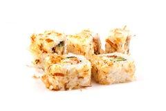 Sushi del bonito Fotos de archivo libres de regalías