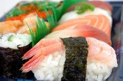 Sushi del camarón fotos de archivo