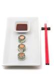 Sushi del dinero Imágenes de archivo libres de regalías