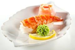 Sushi del gambero immagine stock