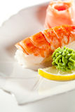 Sushi del gambero immagini stock