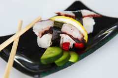Sushi del lujo dos Fotos de archivo