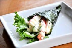 Sushi del rodillo Fotografía de archivo