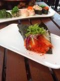Sushi del rodillo de Californai Foto de archivo