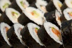Sushi del rodillo de California Fotos de archivo