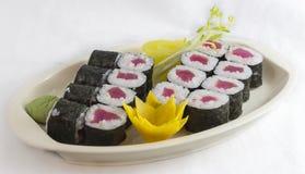 Sushi del rotolo Immagine Stock Libera da Diritti