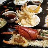 Sushi del sasimi de Shabu fotos de archivo libres de regalías