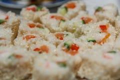 Sushi del sesamo Immagine Stock Libera da Diritti