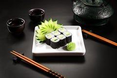 Sushi del vegano Imagen de archivo libre de regalías
