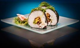 Sushi deliziosi Fotografie Stock