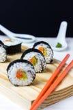 Sushi deliziosi casalinghi Fotografie Stock Libere da Diritti