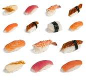 Sushi dell'accumulazione Fotografie Stock