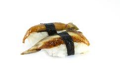 Sushi dell'anguilla Fotografia Stock