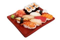 Sushi della miscela del giapponese Immagini Stock