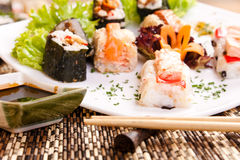 Sushi detail Stock Image
