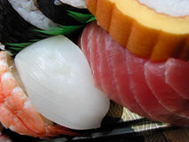 Sushi-detalhe fotografia de stock royalty free