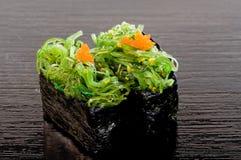 Sushi di Chuka Wakame Fotografie Stock