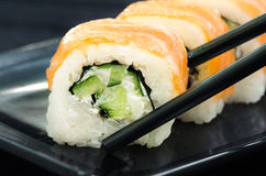 Sushi di Filadelfia Immagine Stock
