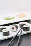 Sushi di Maguromaki Makimono immagine stock libera da diritti