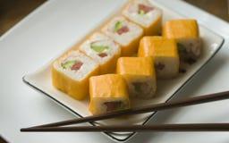 Sushi di Maki Fotografia Stock Libera da Diritti