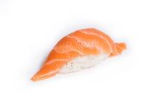 Sushi di Nigiri con il salmone fotografia stock