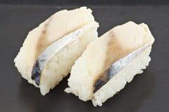 Sushi di Saba Immagini Stock Libere da Diritti
