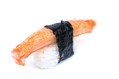 Sushi di Surimi, polpa di granchio artificiale Immagine Stock