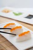 Sushi di Suziki Nigiri fotografie stock
