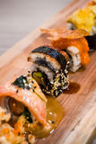 Sushi di Unagi fotografie stock