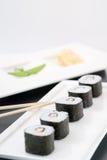 Sushi di Unagimaki Makimono fotografia stock libera da diritti
