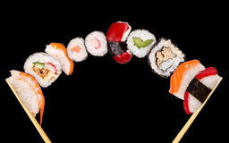 Sushi di XXL Fotografia Stock Libera da Diritti