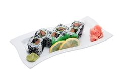 Sushi different nations Stock Photo