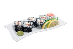 Sushi different nations Royalty Free Stock Photo
